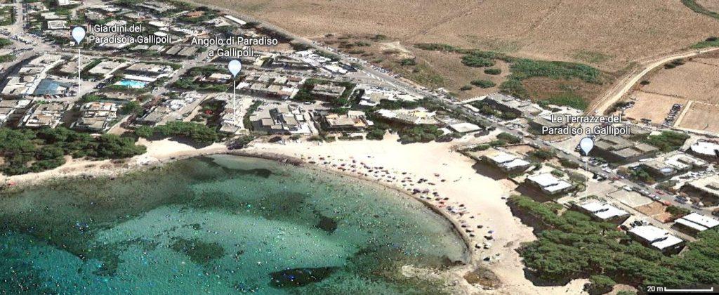 Case Vacanza a Gallipoli direttamente sulla spiaggia